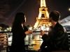 Diner romantique  sur la Seine