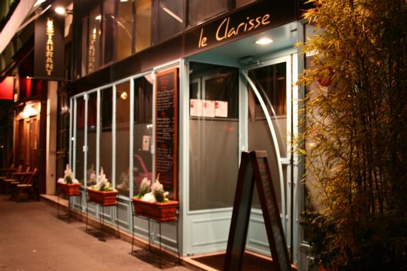 Le clarisse - Tour maubourg restaurant ...