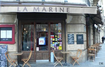 La marine - Restaurant quai de valmy ...