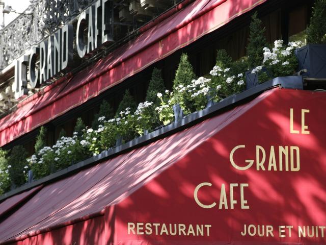Restaurant Le Grand Café,Les fréres Blancs,Paris