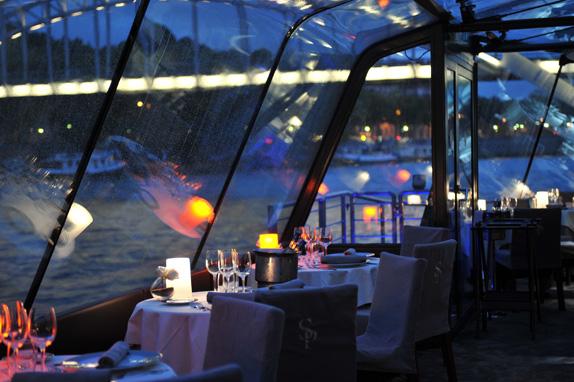 Bateau Restaurant Paris Tour Eiffel