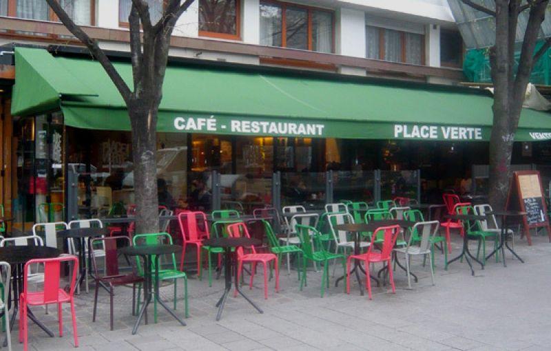 terrasses pour boire un verre place verte rue oberkampf guides restaurants critiques et. Black Bedroom Furniture Sets. Home Design Ideas