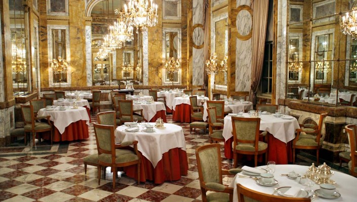 Restaurant beau decor paris