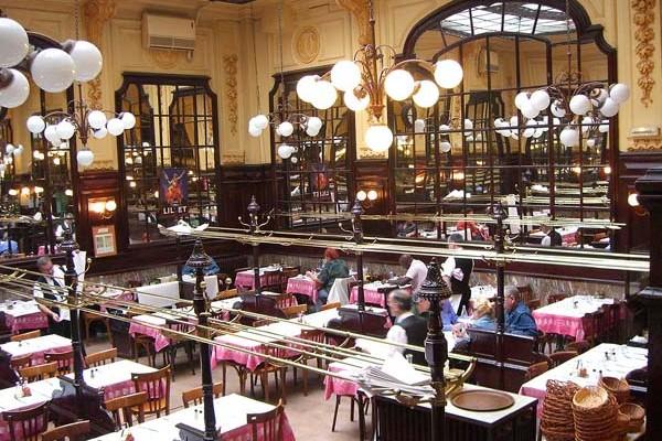 Classic French Paris Restaurant