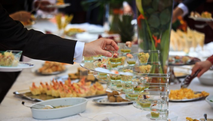 Matrimonio, buffet ristorante italiano
