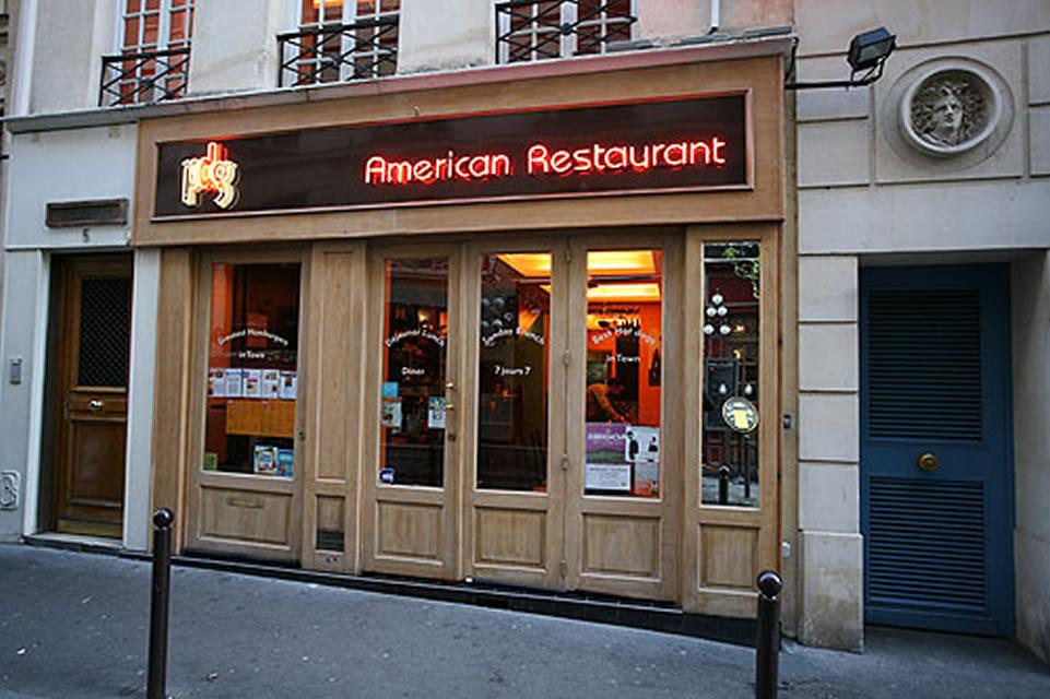 Restaurant PDG Rive Gauche Paris