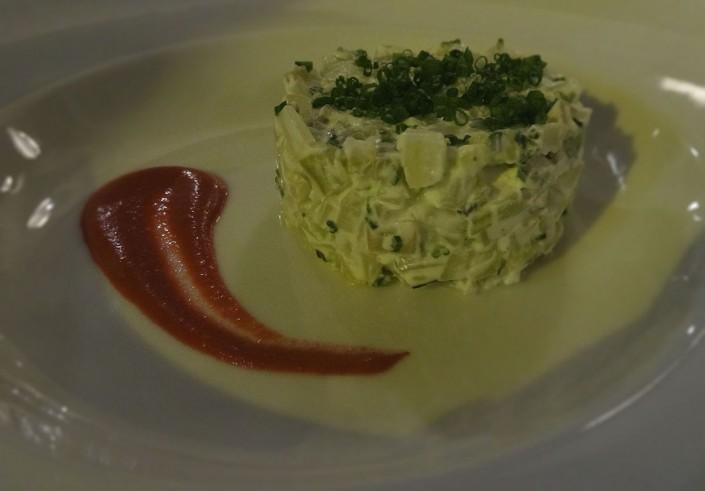 atelier des artistes : tartare de petits légumes