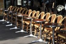 Terrasse de café parisien