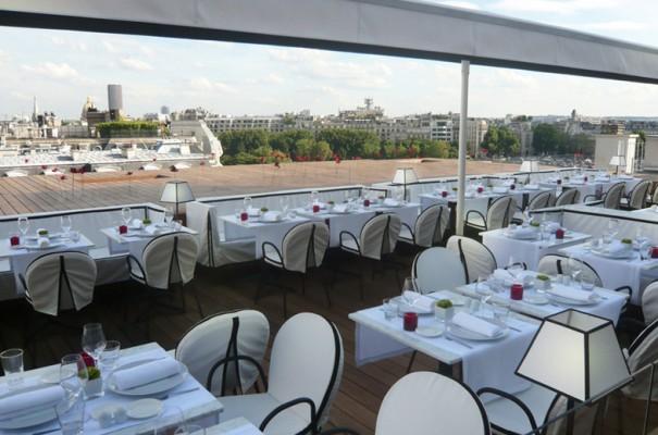 Guides restaurants terrasse proche d 39 un monument historique Terrasse vue paris